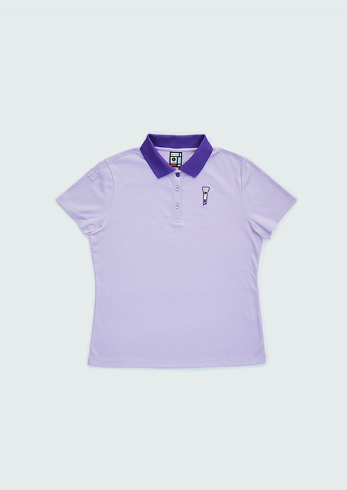 OX1 CLASSIC PK S/SHIRT / PURPLE